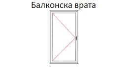 Врата - балконска